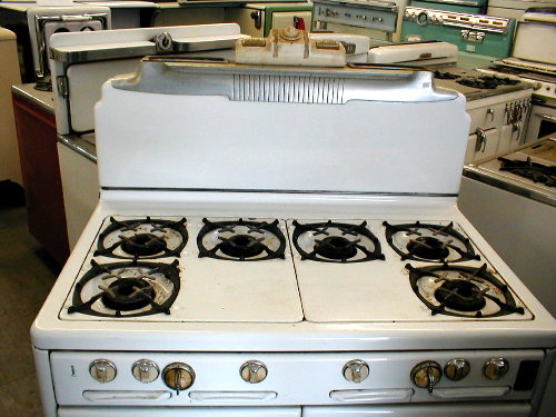1949 Roper 6 burner gas range