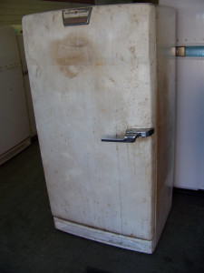 1954 General Electric Refrigerator