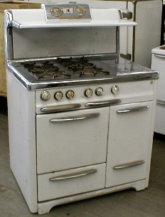 1949 Occidental Wood/Gas Stove