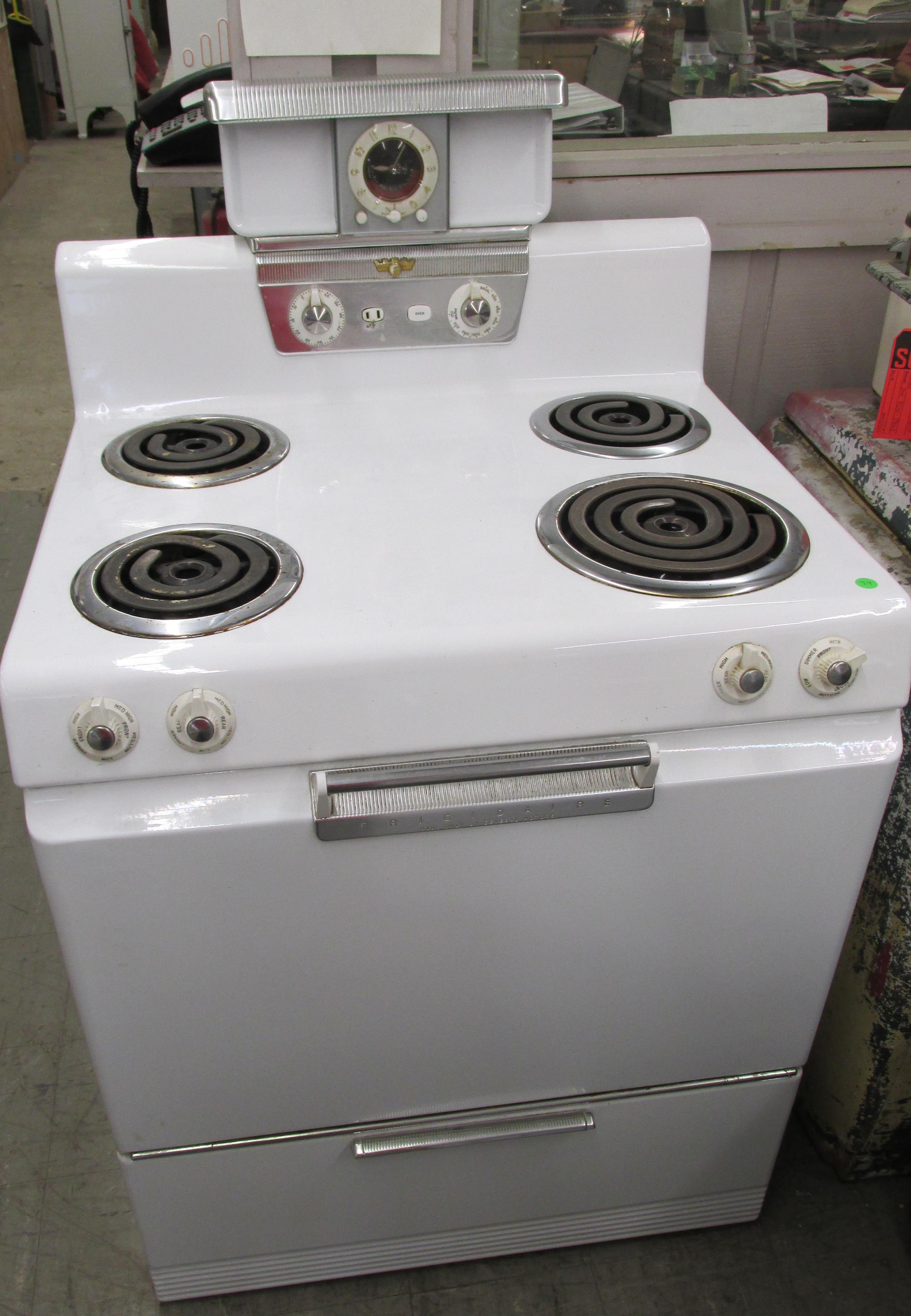 1953 Frigidaire Electric Stove