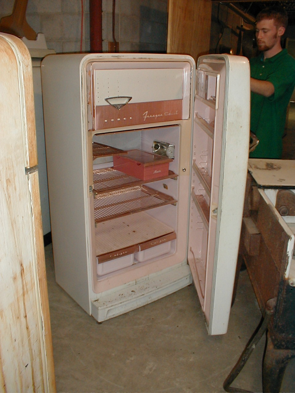 Unrestored Antique Refrigerators