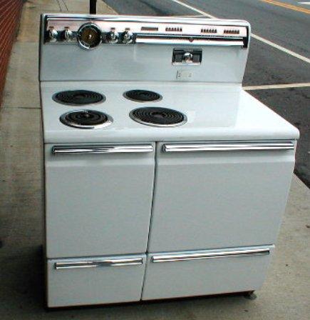 1955 GE Single Oven
