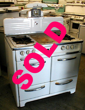 1949 Wedgewood Gas Stove</p><h3>SOLD</h3><br>