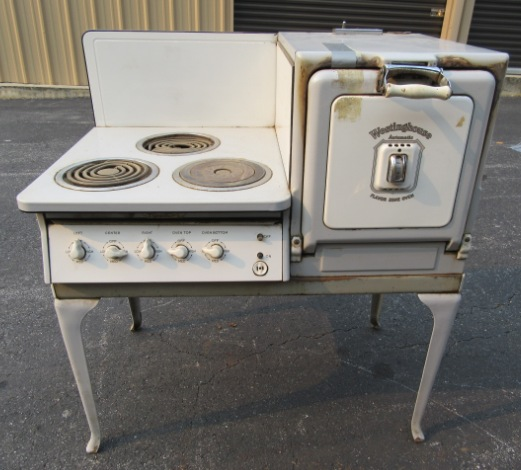 1928 Westinghouse 3 Burner