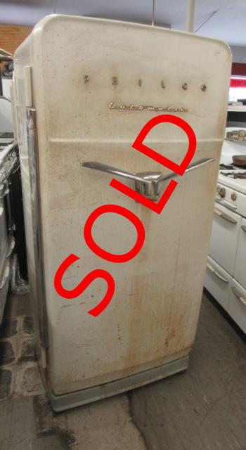 Philco Refrigerator Wiring Diagram : Unrestored antique refrigerators