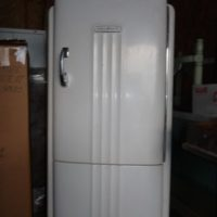 Antique GE Refridgerator B6 39-A Art Deco style