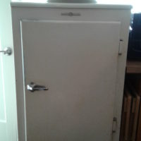 GE 1936 Monitor Top Refrigerator