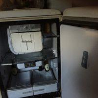 Vintage Hotpoint refrigerator for sale ....works fine....even freezer!