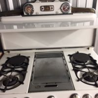 1954 Okeefe and Merritt Stove with Grillevator- Very Rare and in excellent condition