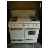 """1950 Universal """"Chef's Delight"""" Gas stove- Fully restored"""
