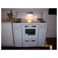 1950 Tappan Deluxe Electric Stove - Fully restored