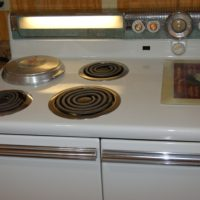 Vintage 1950 Westinghouse Electric Stove