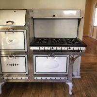 1936 Reliable Angleiron stove by American Stove Co.