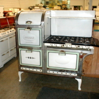 Unred Antique Stoves
