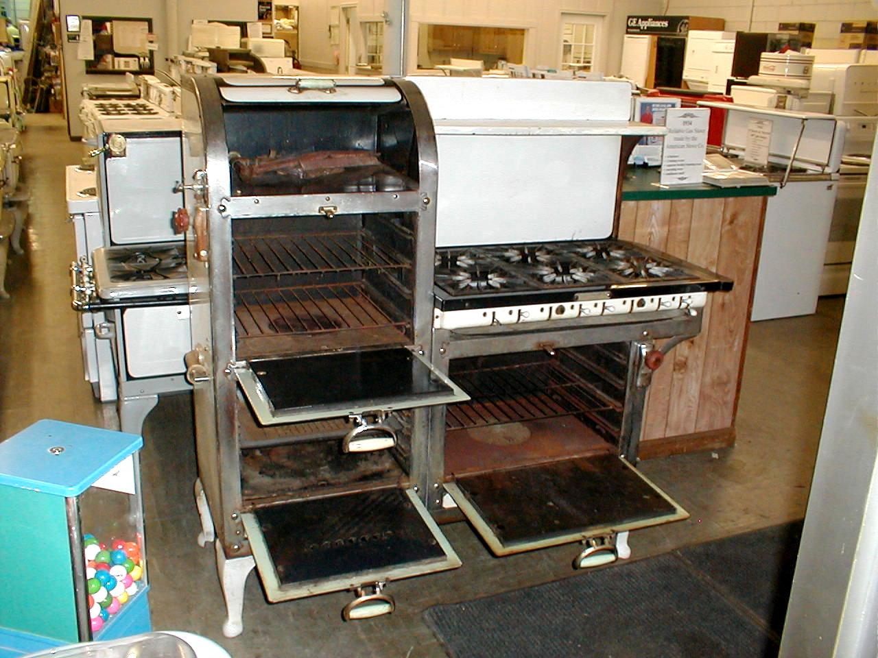 1929 Reliable 6 Burner Gas Stove Antique Appliances