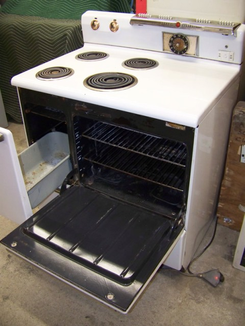 1954 Ge Stove 36 Quot Antique Appliances
