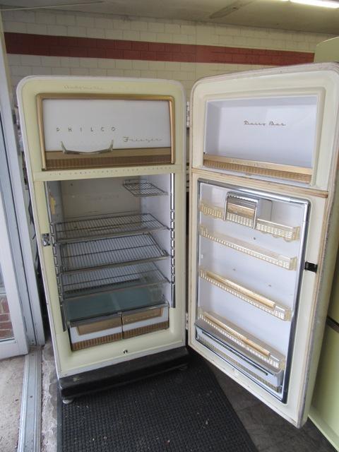 1954 Philco Refrigerator Antique Appliances