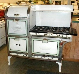 1929 Reliable 6 Burner Gas Stove