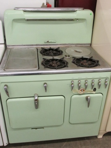 1951 Mint Green Chambers Antique Appliances