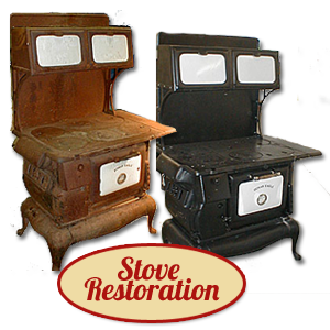 antique stoves