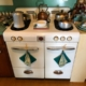 Vintage Magic Chef Range dating from approximately 1955 in very good condition. $450.00.