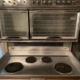 50's HOTPOINT HALLMARK original/super clean/fully functional/base cabinet included
