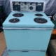 1959 Hotpoint Electric Stove Push Button Model 107RB65