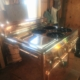 Gorgeous 1958 Copper Chambers Gas Stove Model 61AC
