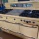 LOOK NEW PRICE!!!!! 1949 Roper Stove Refurbished MCM Matching Kelvinator Refrigerator 1957