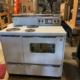 "Vintage 1966 electric GE range/double oven, ""B"" series.  Excellent condition."