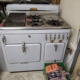Light Blue 1950's Chambers Gas Stove